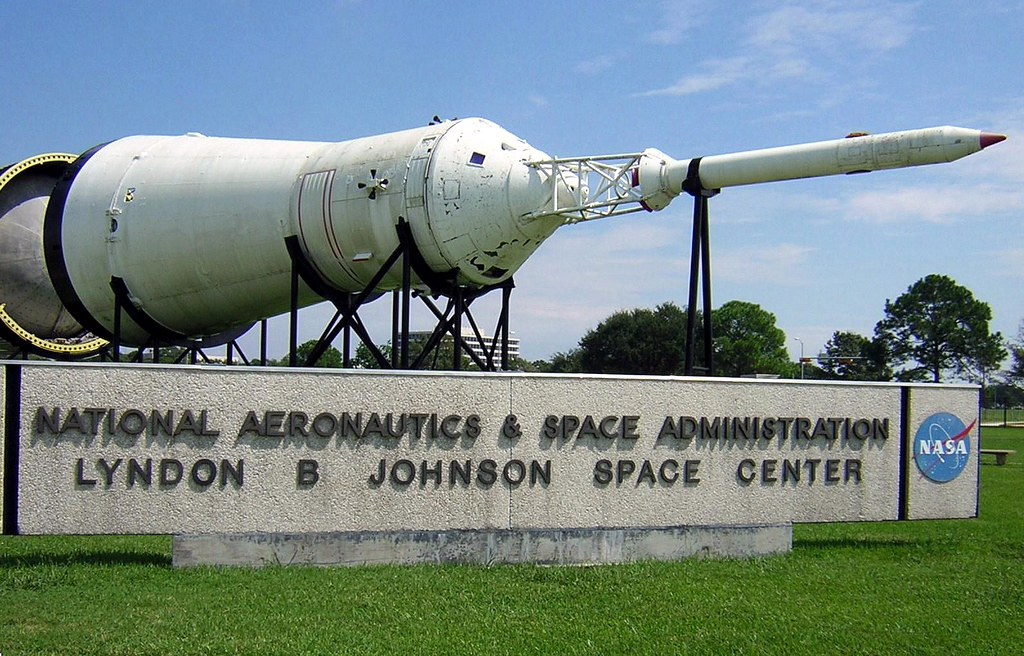 Johnson Space Center in Clear Lake City